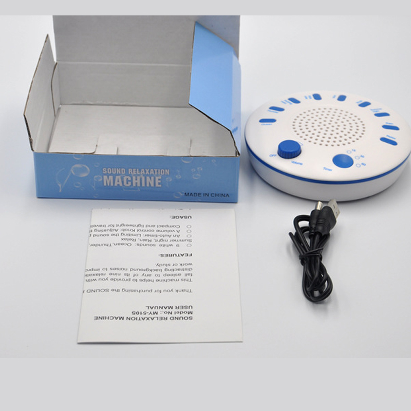 Music Sleeping Instrument Sound Relaxation Therapeutic Machine dormir Sleep Helper with 9 High Quality Nature Music sleeping aid 5