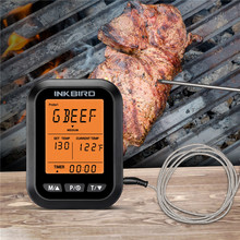 Inkbird ICT-2P LCD Display BBQ Thermometer with 2 Probes for