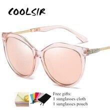 COOLSIR 2019 Polarized Sunglasses Women Ladies UV400 High Quality Eyewear Sun Glasses Fashion Lens Diamond Luxury Brand Designer