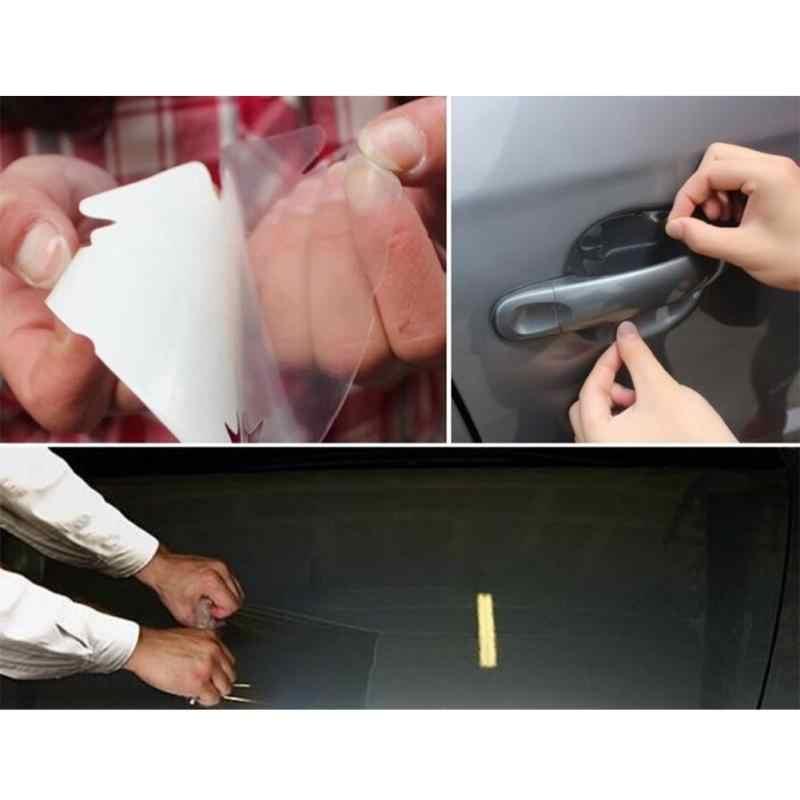 10 см x 1 м 2 м 3 м 5 м наклейка для кожи носорога Автомобильный капот, бампер Защитная пленка для краски ПВХ Виниловая прозрачная пленка автомобильная наклейка