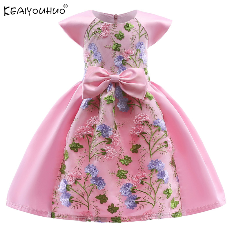 New Kids Dresses For Girls MOANA Summer Dress 2018 Children Clothing Toddler Wedding Dresses Vestidos Girls Party Princess Dress 2016 new girls dress cotton summer style sleeveless children dress party dresses for 2 7 years kids toddler vestidos kf509