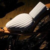 For Harley cruiser motorcycle seat cushion set cafe racing retro single seat retro small back seat