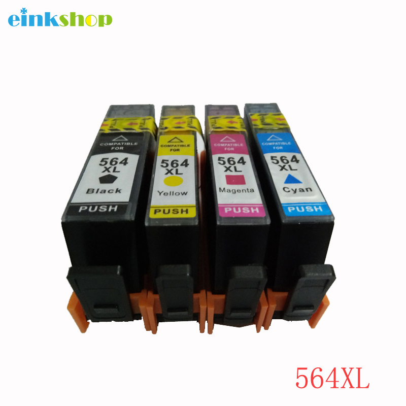 einkshop 564xl Compatible Ink Cartridge Replacement for hp <font><b>564</b></font> <font><b>xl</b></font> 564xl Photosmart 5510 5511 5512 5514 5515 5520 6510 printer image