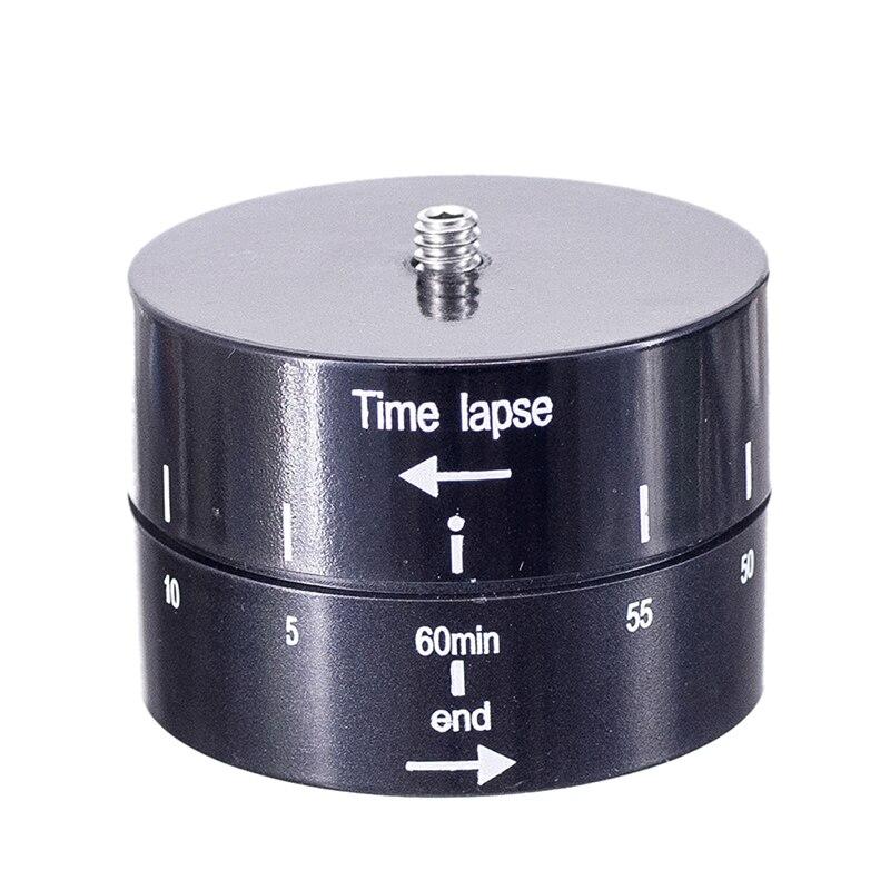 Pour Mobile Téléphone Accéléré 360 Degrés Rotation Automatique Caméra Trépied Tête Base 360 TL Timelapse Pour Gopro Caméra REFLEX