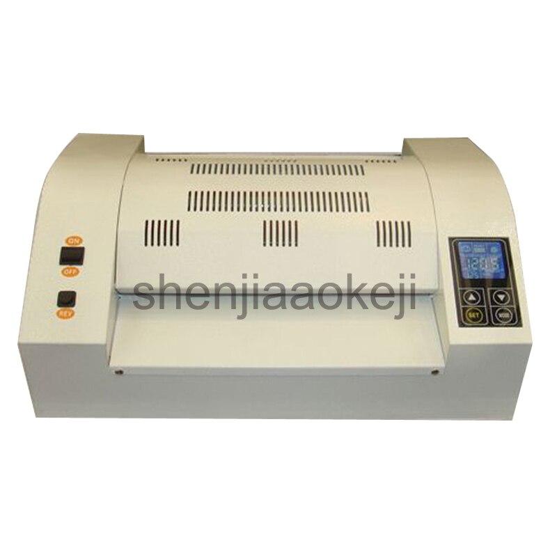 Профессиональный ламинатор для мешков пластиковая машина для запечатывания пластиковых фото ламинатор 8 клей ролик ламинатор 330 мм 1 шт.