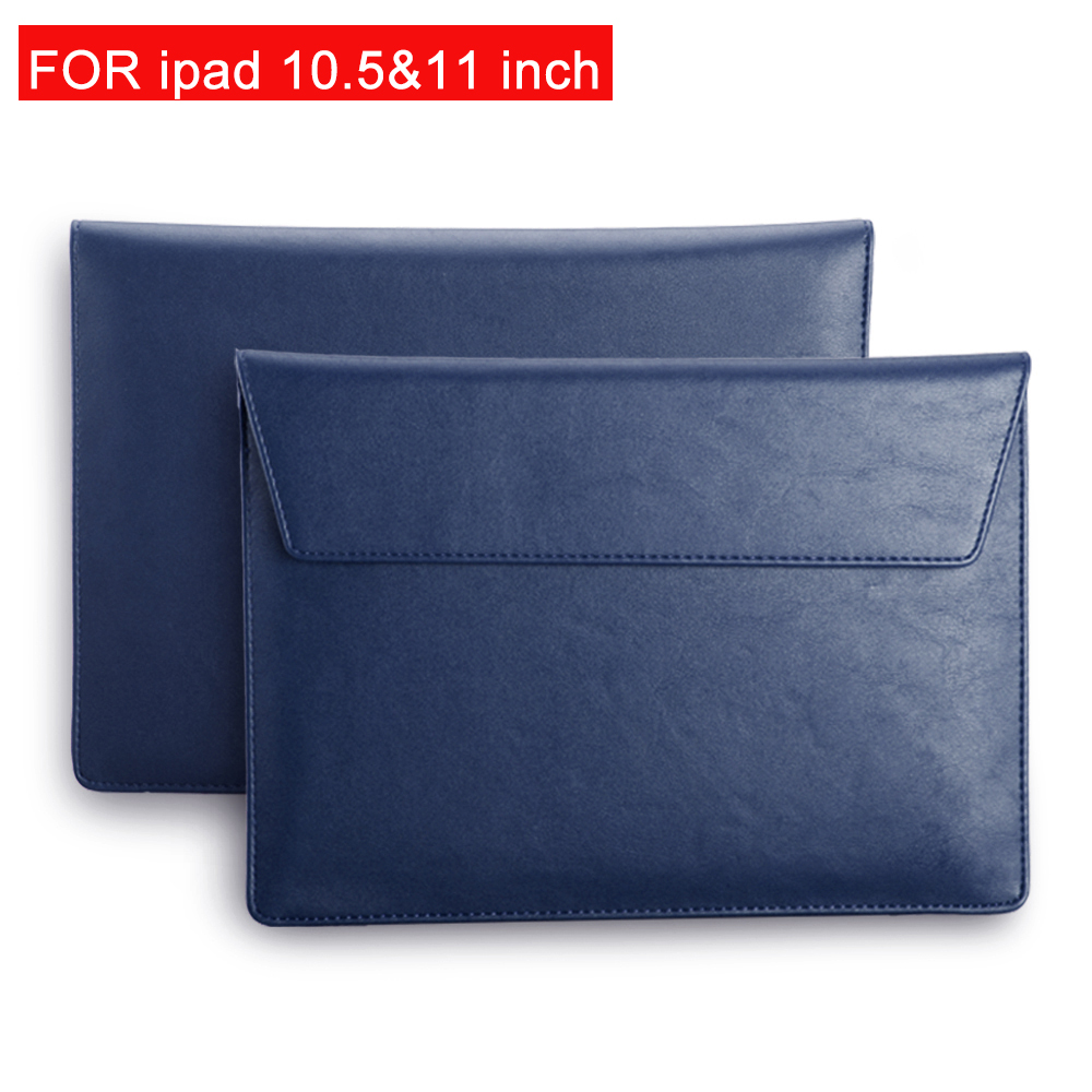 High Quality PU Leather Inside Bladder Shockproof Sleeve Bag Case For New IPad 10.5 11 Inch Case 2019 Unisex Liner Sleeve Cover