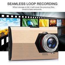 """1080 """"Full HD ночного видения 3,0 P ультра-тонкая Автомобильная Камера Встроенная видеокамера 500 Мега пиксель DVR камера-регистратор с микрофоном Dash Cam"""