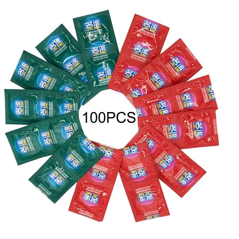 Mingliu Condoms 100 Pcs For Men Durexring Products For Adults Penis Condom Intimate Goods Erotic Condoms Toys For Men Sex Shop