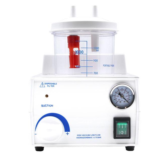 FDA CE Emergencia Médica Dental Portátil Flema Unidad De Succión de Vacío Eléctrica