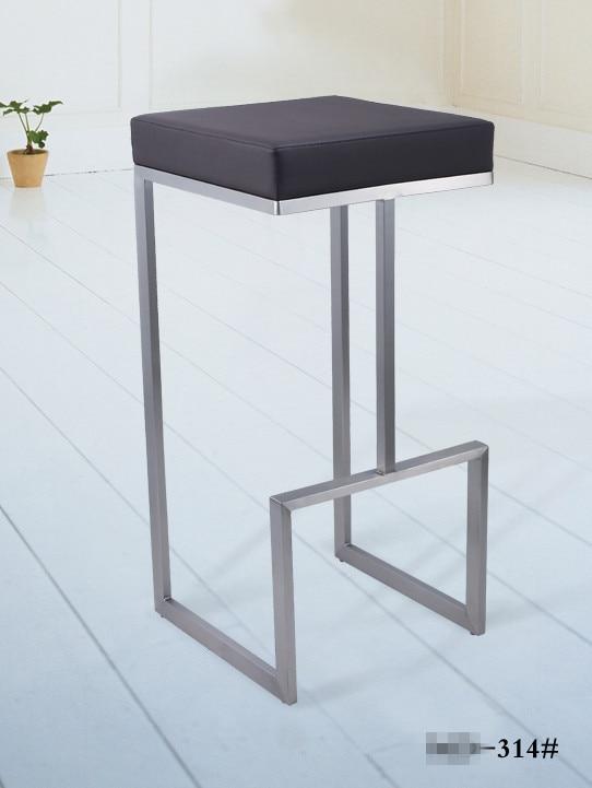 Geb rstetem stahl stuhl kaufen billiggeb rstetem stahl for Moderne barhocker edelstahl