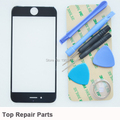 For iPhone 6 4.7 inch Display Touchscreen Replacement Front Screen Glass Lens Cover + Tool Kit (black)
