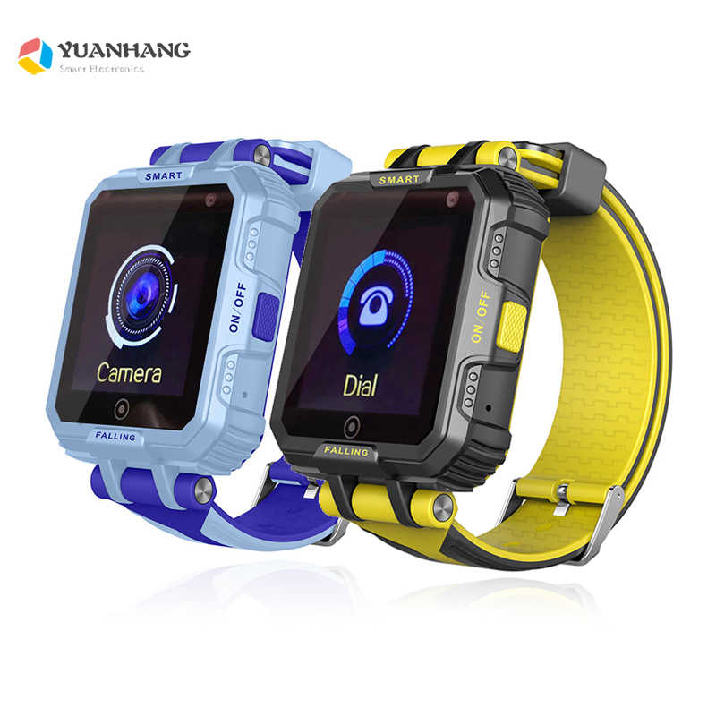 IP67 Waterproof Smart GPS WIFI Tracker Locator Kids Baby SOS Call Remote Monitor Camera Alarm Sim Smartwatch Watch Wristwatch