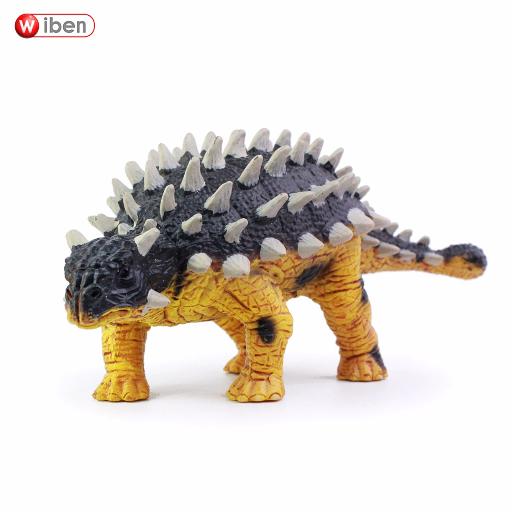 Wiben Jurassic Saichania Dinosaur Toys  Action Figure Animal Model Collection Gifts Toys For Children High Quality Brinquedos jurassic dinosaur model plastic animal height simulation giganotosaurus action figure toys collection for kids gifts