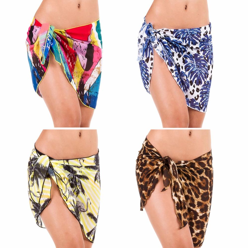 350cf869e5 Detail Feedback Questions about 12 colors women swimwear chiffon ...