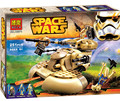 Hot 221pcs STAR WARS AAT tanks Building Blocks Vulture robot  kids Educational Bricks Toy Compatible with