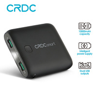Powerbank CRDC 10000mAh Universal Quick Charge Power Bank Portable External Battery Dual USB Charger For IPhone