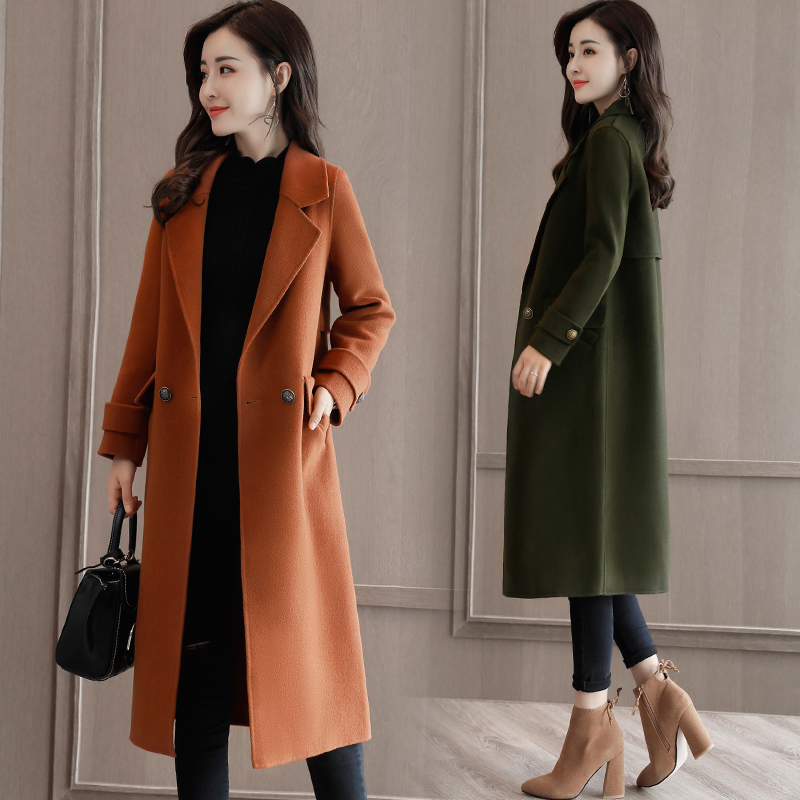 4xl Plus Big Size Women Clothing 2019 Spring Autumn Winter Korean Pleated Vestidos Loose Long-sleeved Dress Female Office Zn7 Women's Clothing