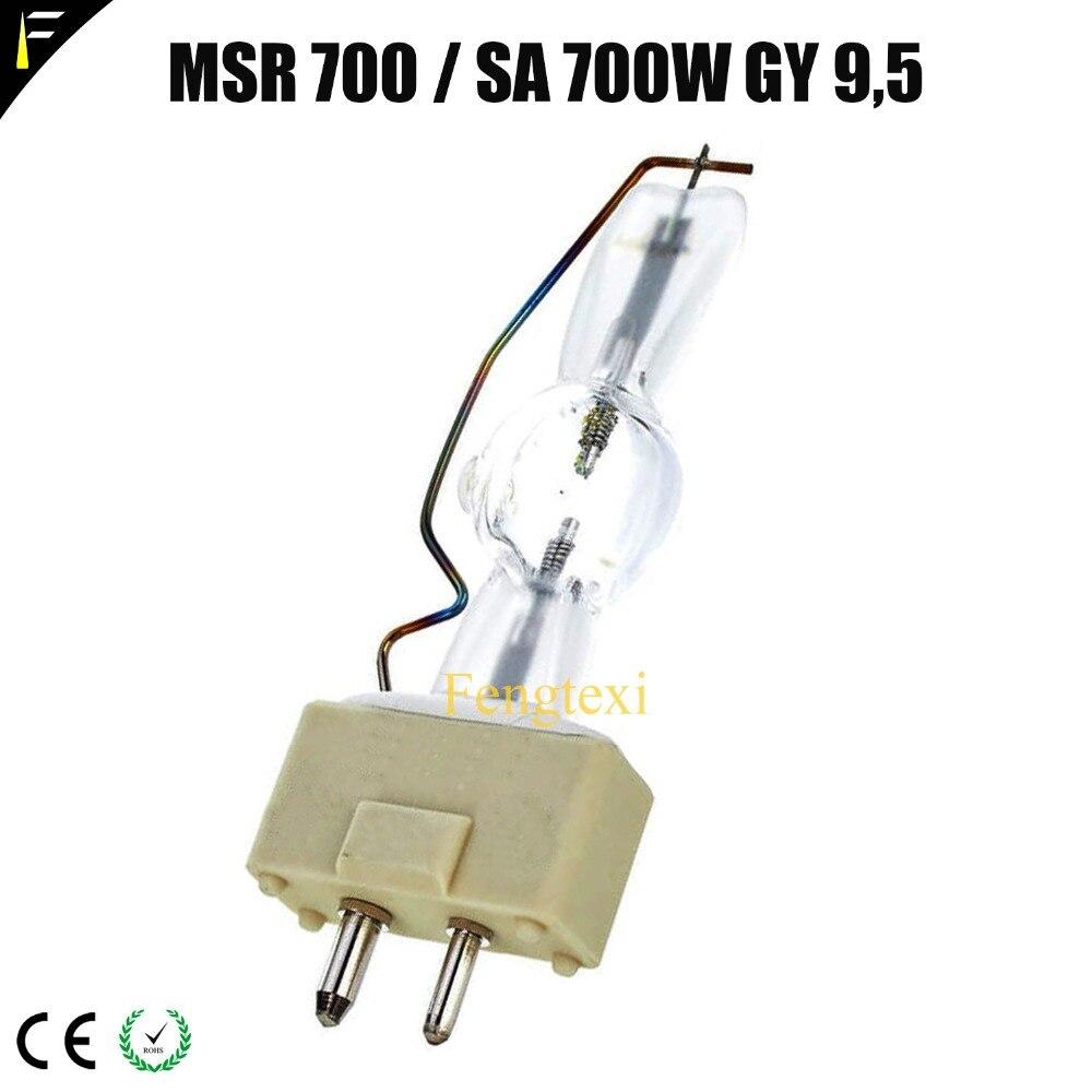 MSR700w / 2sa Moving Head Lamp Bulb MSR 700/2 for GY9.5 CSR700w/SA NSK 700SA Stage Light Single-ended Bubble цены