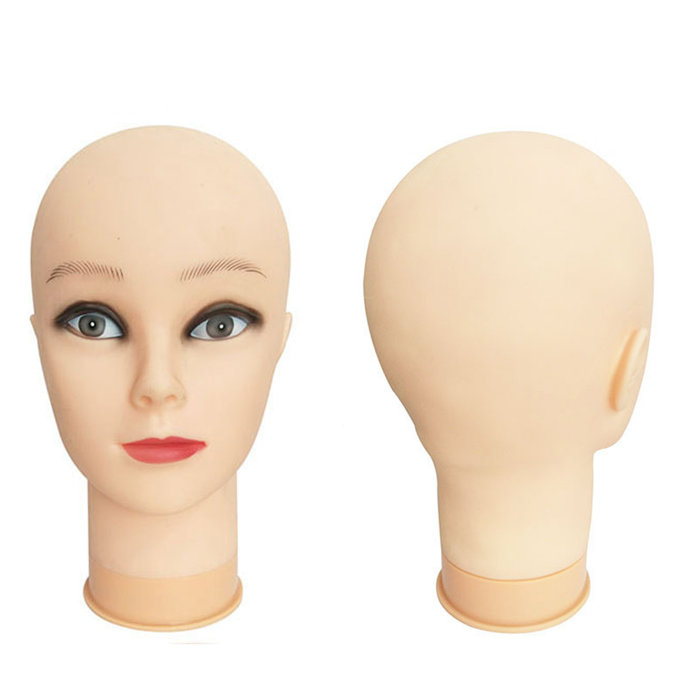 OLD STREET Professional Cosmetology Bald Mannequin Head Manikin Model Doll Head for Make Up Making Wigs with Clamp TpinsOLD STREET Professional Cosmetology Bald Mannequin Head Manikin Model Doll Head for Make Up Making Wigs with Clamp Tpins