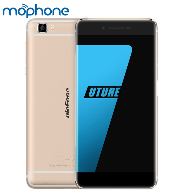 "Original Ulefone Future 5.5""HD 1920*1080 4G Smartphone Android 6.0 MTK6755 Octa Core 4GB+32GB 5MP 16MP No Border Cellphone"