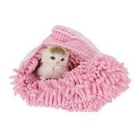 Microfibra Super absorbente secado toalla perro Bañeras traje cálido perro gato mascota Bañeras toalla grooming mascotas producto