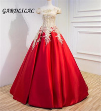 Plus size wedding dresses with Lace sleeves 2019 Ball Gown Red Wedding vestido de noiva