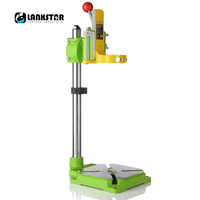High Precision Electric Drill Stand Power Rotary Tools Hand Drill Bracket Woodworking Tools Bench Drills Press