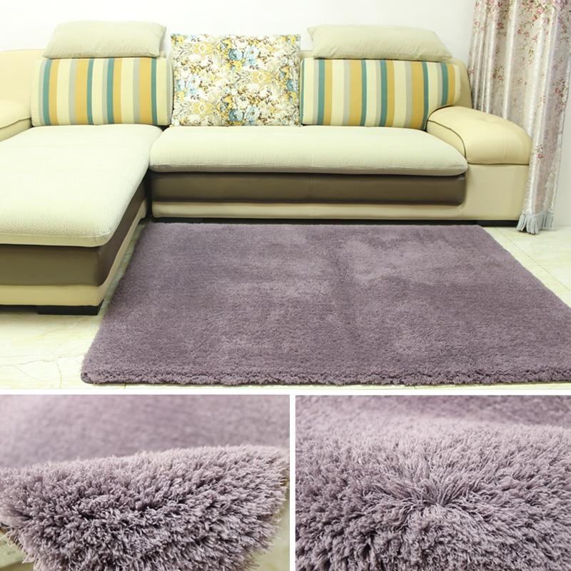 Простые современные прямоугольный ягненка бархат гостиная журнальный столик спальня ковер кровать матрас, матрасы