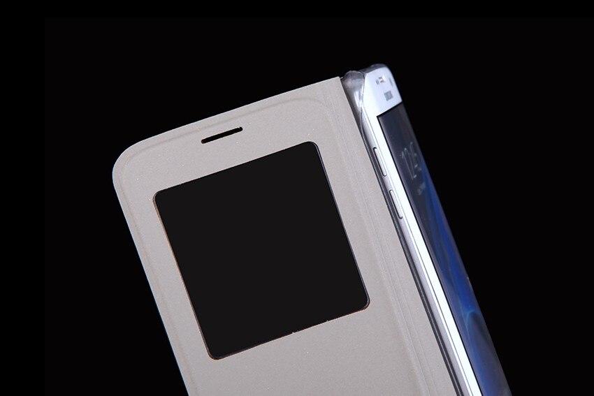 QTNED Luxury View Phone Case för Samsung S7 Edge Flip Cover Holster - Reservdelar och tillbehör för mobiltelefoner - Foto 5