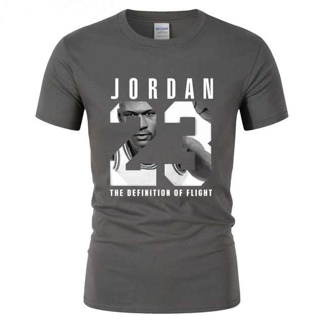 Jordan 23 tshirt dos homens da marca dos homens t-shirt legal encabeça mangas curtas t camisa Tee Presa verão juventude menino de basquete aptidão teeshirt