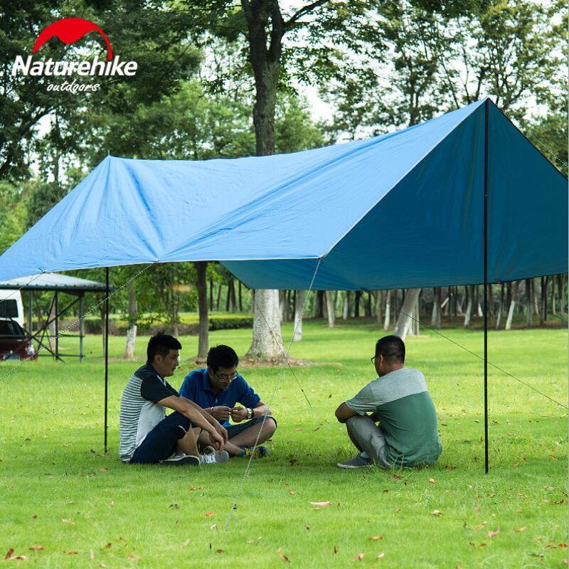 ̀ •́ Naturehike Ultralight camping TARP playa gazebo pesca ...
