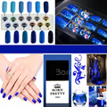 1 Bottle 10ml Born Pretty UV Gel Blue Series Gel Polish High Quality UV Polish Varnish 12 Colors available