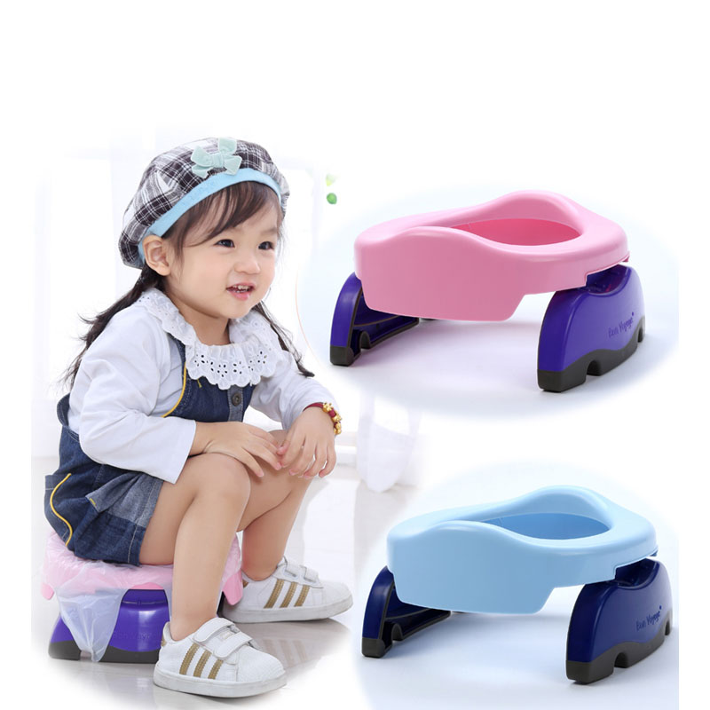 Travel Potty Training Child Seat Foldable Outdoor Baby Urinals Toilet Car Cushion Kids Camping