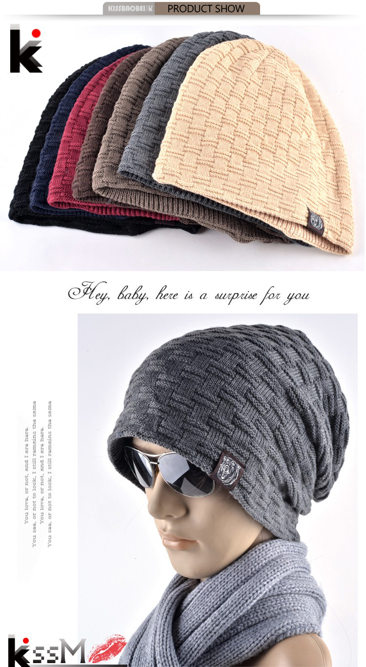୧ʕ ʔ୨2018 otoño y el invierno Bonnet sombreros para hombres y ...