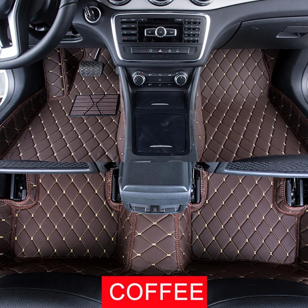 Car floor mats case for nissan murano 2nd gen 3rd gen sunny sentra customized