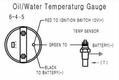 "Dynoracing масла датчик температуры ""(52 мм) дым Лен 40-150 C степень указатель масла датчик температуры автомобиля метр с датчиком BX101229"