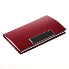 Business Card Credit Card Holder Card Case Red