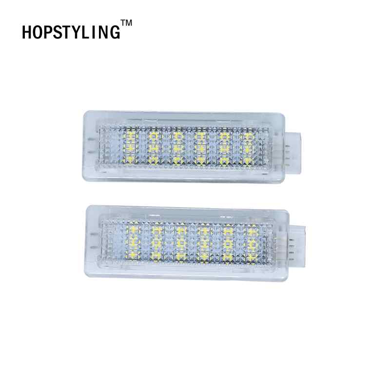 2X White LED Door Interior Footwell Light Led courtesy light CAR Styling For BMW F01N/F02N/F03N F30 F31 F32 F34 F10LCI F11LCI