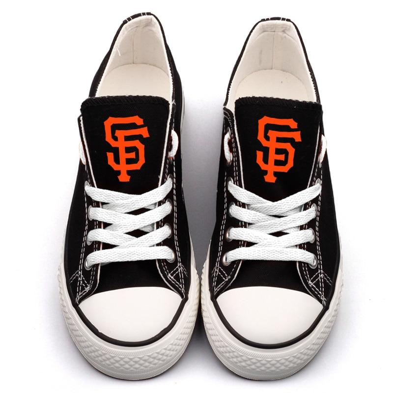 djw13h Squadra City Francisco Personalità 0000 T Mujer Tela Di Logo Zapatos Design Tenis Ventole Adulti Scarpe Personalizzata San Americano Stampato Per AqApxzH