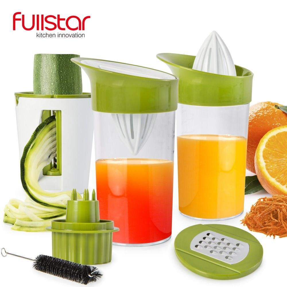 Fullstar Manual Citrus Juicer for Orange Lemon Fruit Squeezer 100% Original Juice Child Healthy Life Potable Juicer Machine