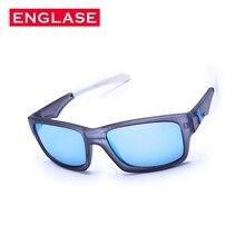 ENGLASE dos homens Revestimento de Óculos de Sol Da Moda Óculos Mulheres Fosco Transparente Óculos de Sol Óculos de Desporto Ao Ar Livre óculos de Sol Oculos Feminino