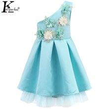 2017 Filles D'été Robe Princesse Patry Robes Pour Filles Vêtements Fleurs Enfants Vêtements Robes Enfants En Mousseline de Soie Robe De Mariée