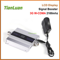 LCD Display Mini W CDMA Signal Booster 2100Mhz 3G Signal Repeater WCDMA UMTS Cell Phone