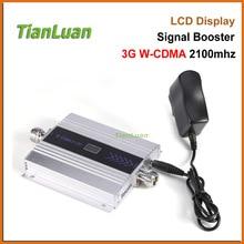 TianLuan Mini W-CDMA Sinyal Güçlendirici 2100 Mhz 3G Sinyal Tekrarlayıcı WCDMA UMTS 3G Cep Telefonu Sinyal Amplifikatör ile 5 v Güç Kaynağı