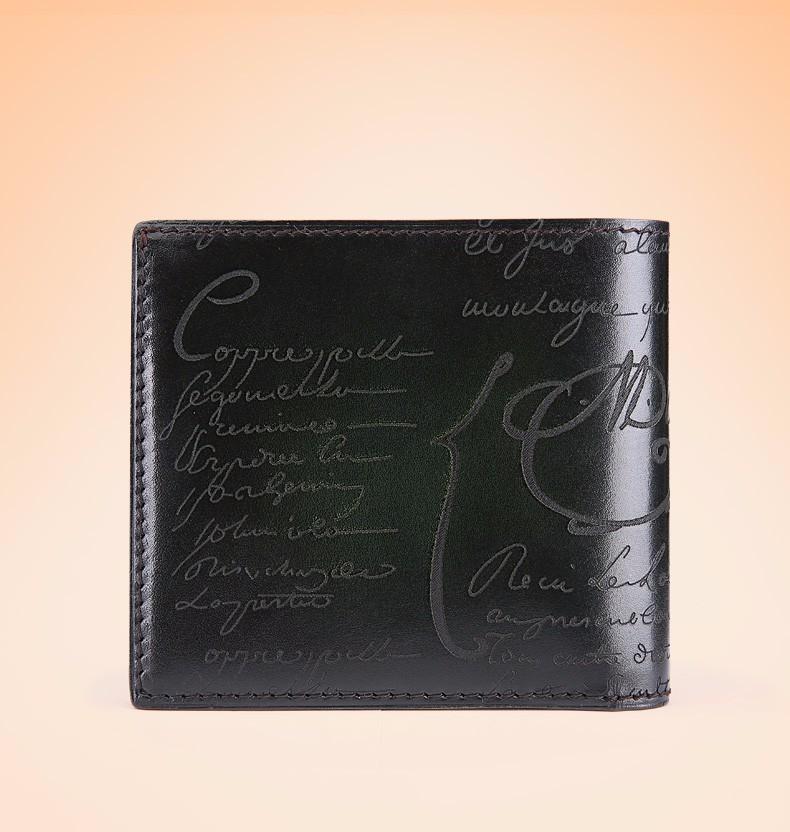 dark green mens wallet