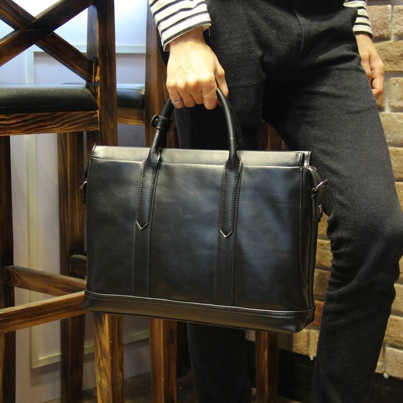 Tidog Men s business casual Shoulder Bag font b Handbag b font cross section Korea tide