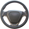 Black Artificial Leather Car Steering Wheel Cover for Chery Tiggo 2010-2012