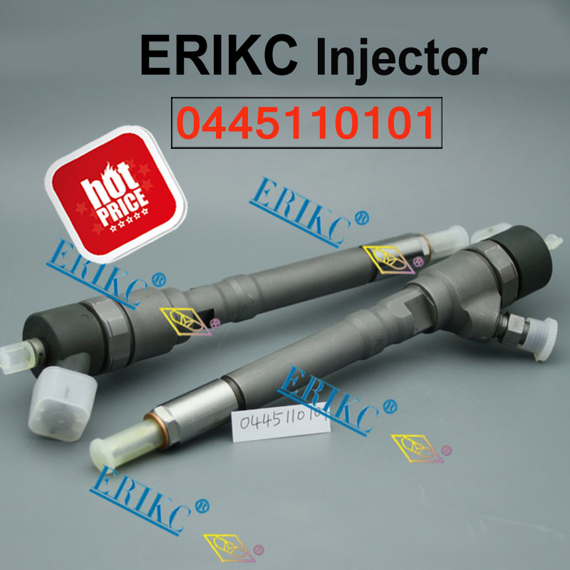 ERIKC 0445110101 33800 27010 Injector Diesel 0445 110 101 Auto Fuel Injection Assy 0 445 110