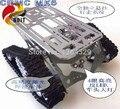 Oficial DOIT 2 WD Rastreador Tanque Chassiss/Robô de Brinquedo Eletrônico/DIY Plataforma de Desenvolvimento para o Carro De Controle Remoto Inteligente