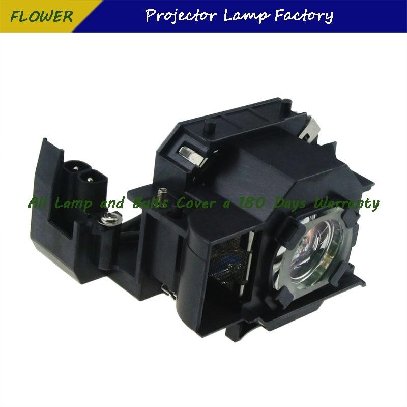 עופרות ELPLP34 V13H010L34 מותג חדש מקרן Bare מנורה עם דיור ForEPSON EMP-62 / EMP-62C / EMP-63 / EMP-76C / EMP-82 / EMP-X3 (1)